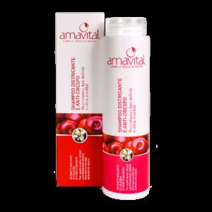 Shampoo districante e anti-crespo